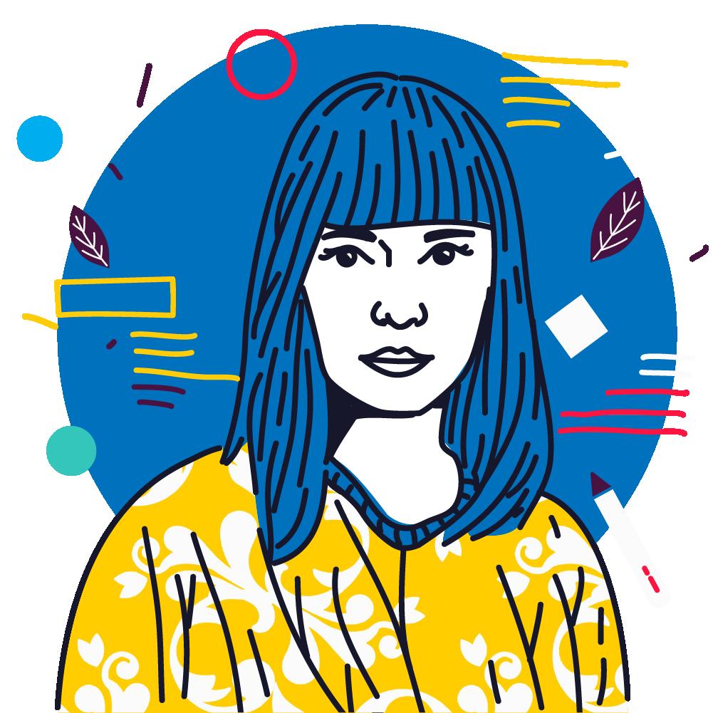 Natalia Ospina, diseñadora y y becaria de Latinográficas 2020