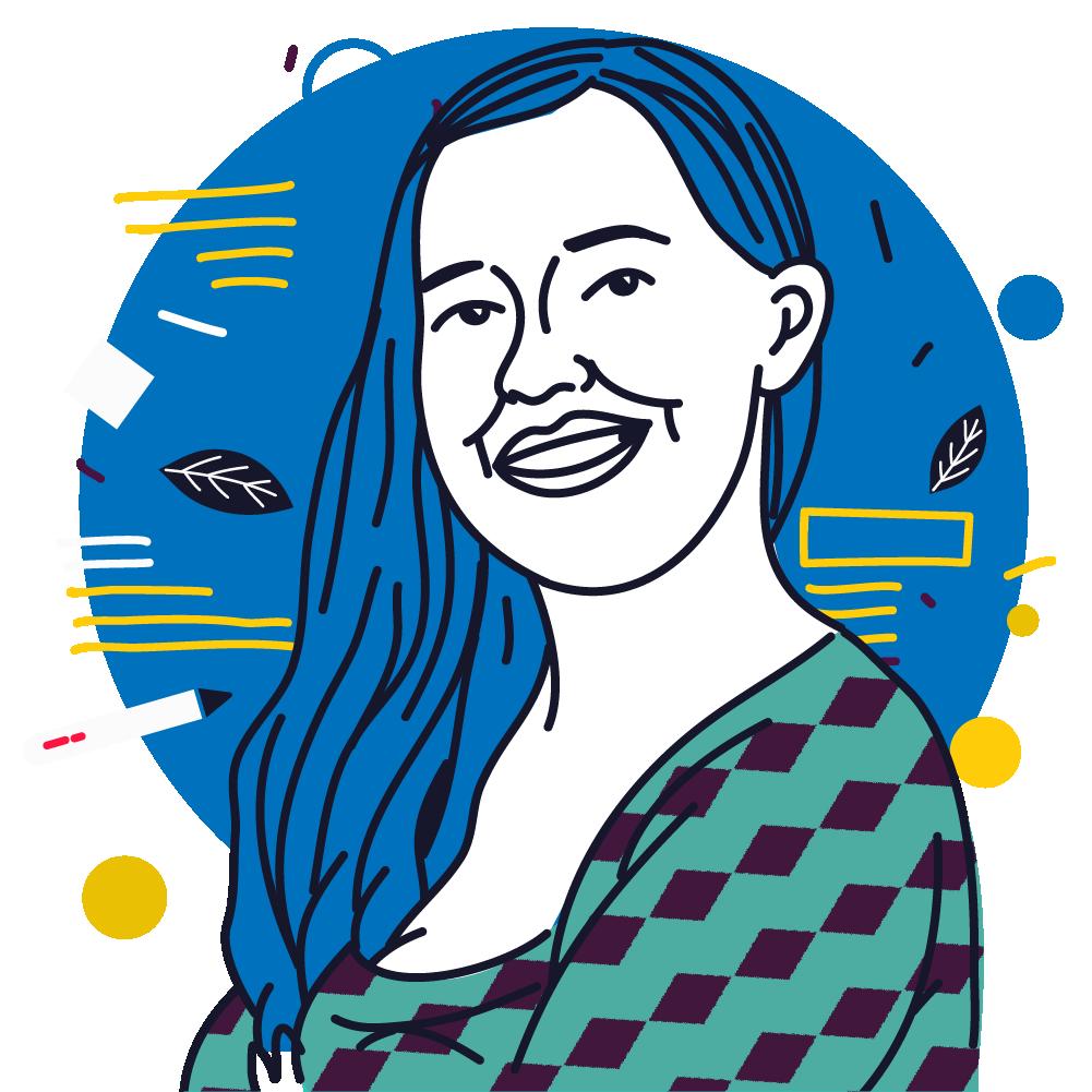 Shari Avendaño, ilustradora y becaria de Latinográficas 2020