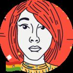 Carolina Morón Ríos<br>🇧🇴<br>Diseñadora gráfica en La Pulga Podcast