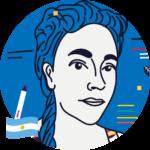 María Elizagaray Estrada<br>🇦🇷<br>Ilustradora y editora de arte en Revista Anfibia
